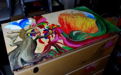 Charsy Art's surreale Zauberkommode Teil 1