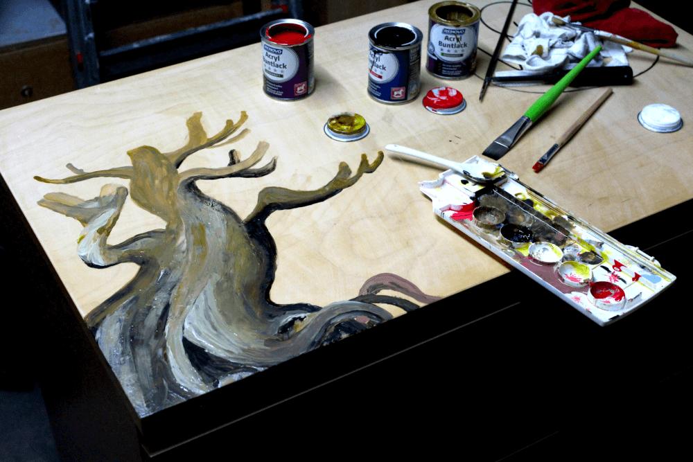 ...Zur ersten Vorlage des Baumes