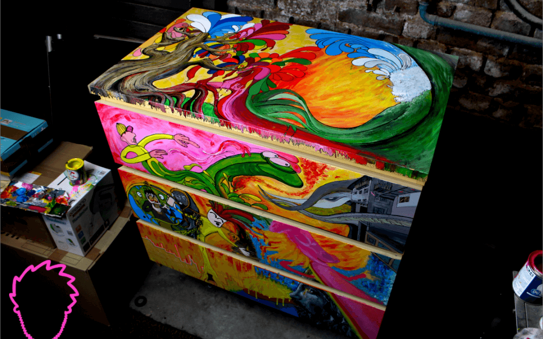 Charsy Art's surreale Zauberkommode – Teil 2