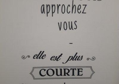 ... Und lustigen Toiletten-Schildern in Frankreich.