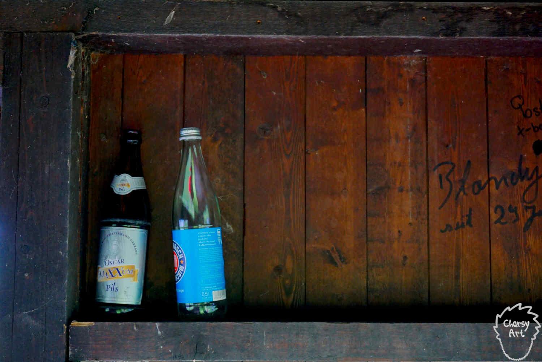 Pfandflaschen - gut versteckt!