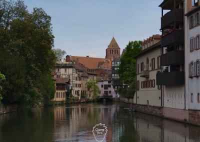 ... Bis in die wunderschöne Stadt Strasbourg im Elsass!