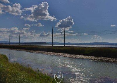 ... Dieses Foto ist auf dem schmalen Stück zwischen La Grande-Motte und Sète, direkt am Mittelmeer entstanden.