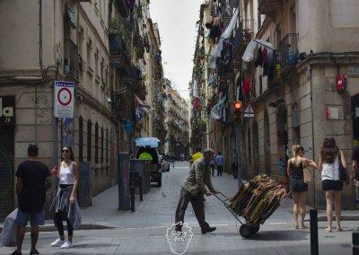 ... Auf dem Weg zu meinem Etappenziel: Barcelona!