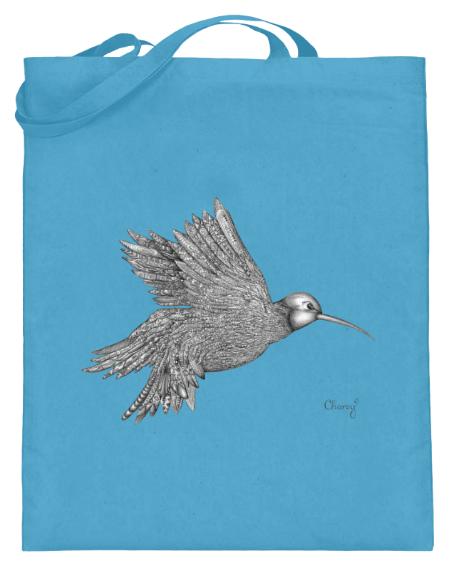 Beutel Vogel Blau-min