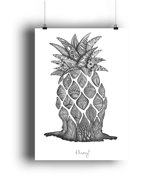 Poster Ananas-min