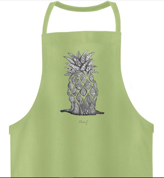 Schürze Ananas-min